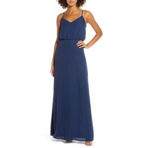 [WAYF] The Savannah Blouson Chiffon Gown